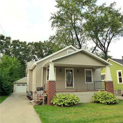 Ferndale Single Family Home For Sale: 381 Silman St
