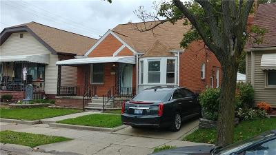 Lincoln Park Single Family Home For Sale: 1488 Cleveland Ave