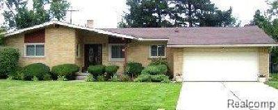 Southfield Single Family Home For Sale: 22442 Greenview Rd
