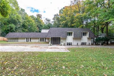 Northville Single Family Home For Sale: 21154 Centerfarm Rd