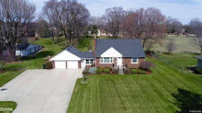 Shelby Twp Single Family Home For Sale: 13331 21 Mile Rd