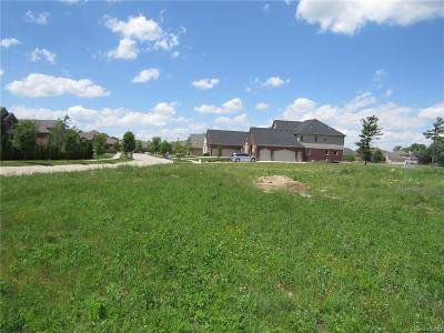 Macomb Residential Lots & Land For Sale: 6489 Pond Dr