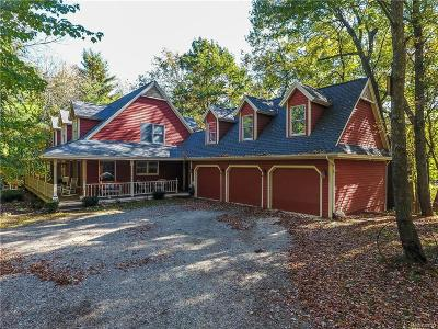 Lapeer Single Family Home For Sale: 4914 General Squier Rd