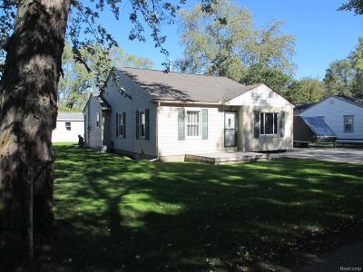 Single Family Home For Sale: 7246 Garvin