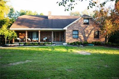 Single Family Home For Sale: 13566 Crooked Creek Dr