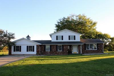 Single Family Home For Sale: 9750 Warnick Rd