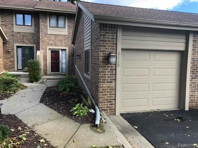 Clarkston Condo/Townhouse For Sale: 6880 Northcrest Way E