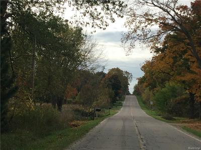 Lapeer Residential Lots & Land For Sale: 3329 N Mill Rd