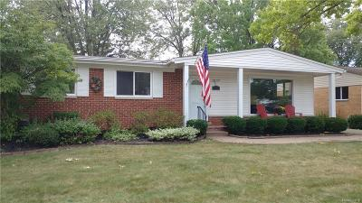 Royal Oak Single Family Home For Sale: 4019 Springer Ave