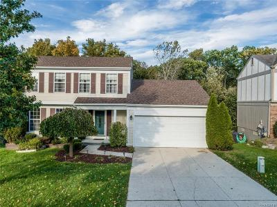 Rochester Hills Single Family Home For Sale: 403 Whitney Dr