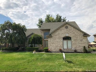 Macomb Single Family Home For Sale: 48273 Sherringham Dr