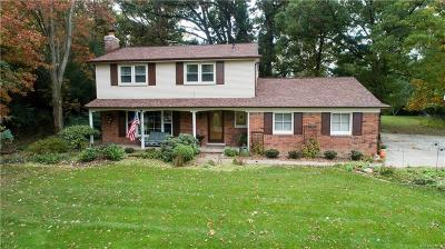 Bloomfield Hills Single Family Home For Sale: 1847 Packer Rd