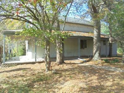 Lapeer Single Family Home For Sale: 6055 Cyclone Rd