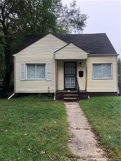 Detroit Single Family Home For Sale: 20251 Chapel St