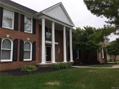 Troy Single Family Home For Sale: 4866 Riverchase