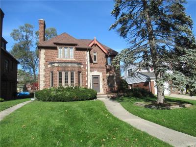 Dearborn Single Family Home For Sale: 22740 Alexandrine St