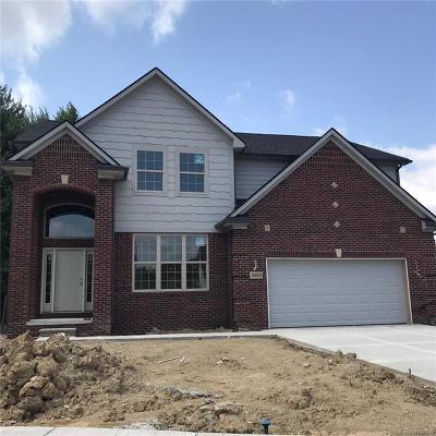 Clinton Township Single Family Home For Sale: 41855 Antoinette Unit 40 Crt