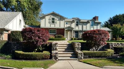 Detroit Single Family Home For Sale: 18210 Fairway Dr