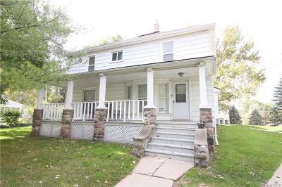 Macomb Multi Family Home For Sale: Van Dyke Rd