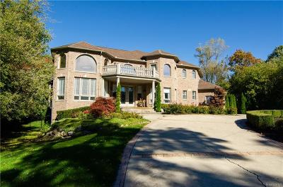 Bloomfield Hills Single Family Home For Sale: 1916 Long Pointe Dr