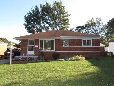 Trenton Single Family Home For Sale: 3461 Margarette Dr