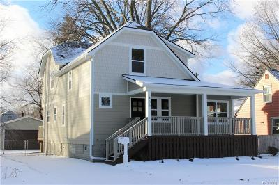 Royal Oak Single Family Home For Sale: 406 Rhode Island Ave