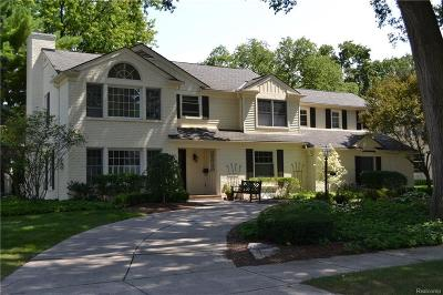Bloomfield Hills Single Family Home For Sale: 770 Hupp Cross Rd