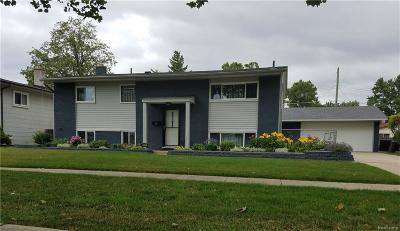 Sterling Heights Single Family Home For Sale: 34327 Viceroy Dr