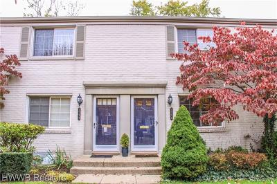 Birmingham Condo/Townhouse For Sale: 1712 Graefield Rd