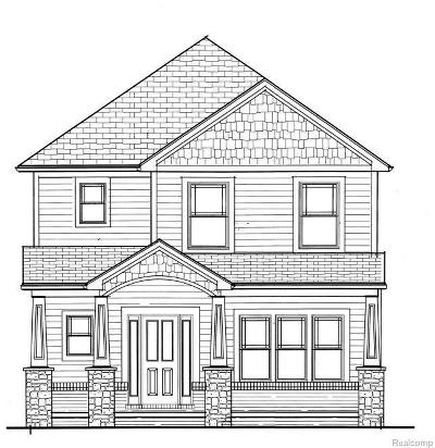 Royal Oak Single Family Home For Sale: 1407 Cherokee Ave