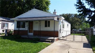 Clinton Township Single Family Home For Sale: 20214 Abrahm St