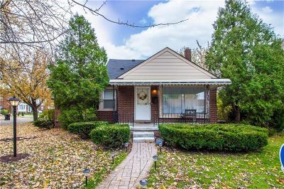 Allen Park Single Family Home For Sale: 7805 Rosedale Blvd