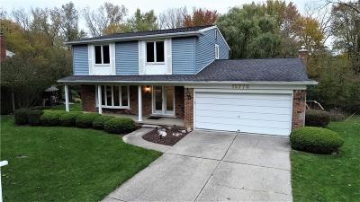 Livonia Single Family Home For Sale: 15778 Riverside Dr