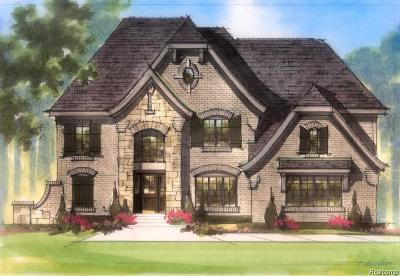 Bloomfield Hills Single Family Home For Sale: 4059 Lincoln Road