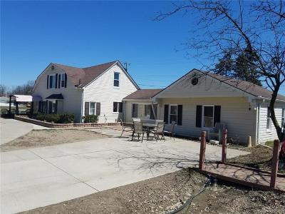 Dearborn Heights Single Family Home For Sale: 7674 N Inkster Rd