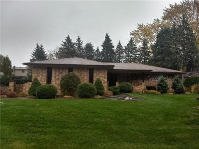 Clinton Township Single Family Home For Sale: 19877 White Oaks Dr