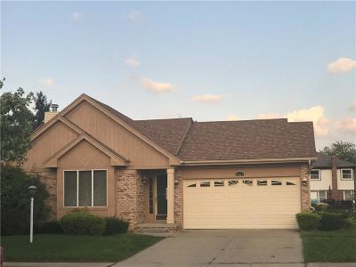 Canton Single Family Home For Sale: 2431 Cranbrook Rd