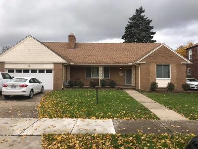 Dearborn Single Family Home For Sale: 7251 Oakman Blvd