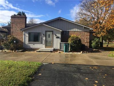 Troy Single Family Home For Sale: 2094 Chancery Dr