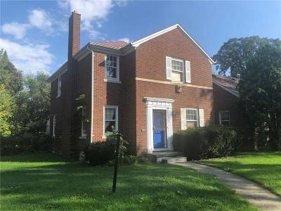 Detroit Single Family Home For Sale: 16216 Patton St