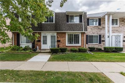 Warren MI Condo/Townhouse For Sale: $103,900