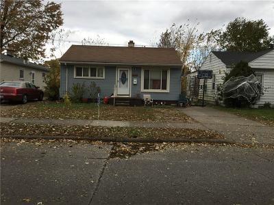Hazel Park Single Family Home For Sale: 1505 E Meyers Ave