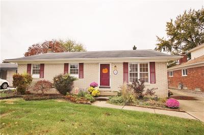 Trenton Single Family Home For Sale: 4886 Jackson St