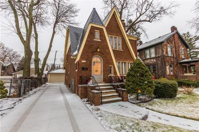 Royal Oak Single Family Home For Sale: 523 S Pleasant St
