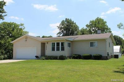 Canton Single Family Home For Sale: 49825 Geddes Rd