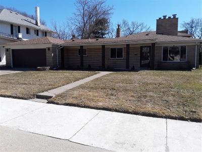 Detroit Single Family Home For Sale: 77 Chicago Blvd
