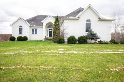 Lapeer Single Family Home For Sale: 2122 Castle Rd