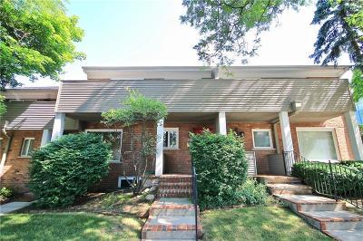 Birmingham Condo/Townhouse For Sale: 576 W Merrill St