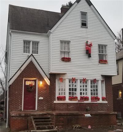 Detroit Single Family Home For Sale: 4031 Pasadena St