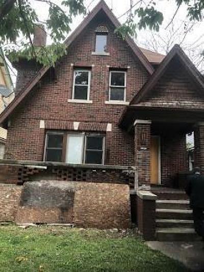 Detroit Single Family Home For Sale: 12150 Santa Rosa Dr